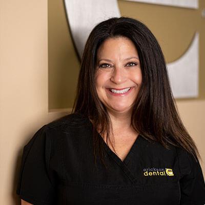Leslie, one of our Dental Hygienists